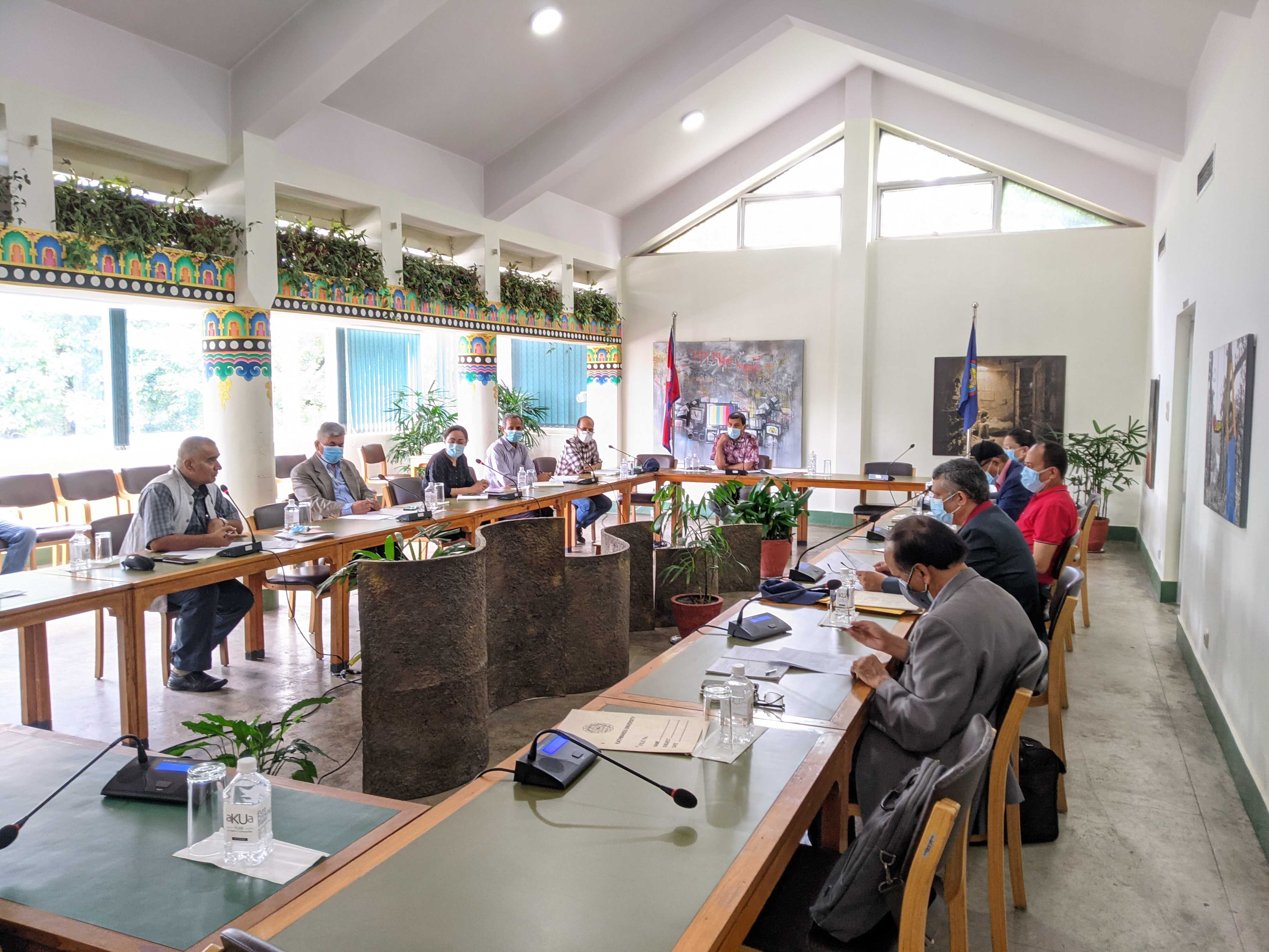 Research Committee meeting of the School of Science